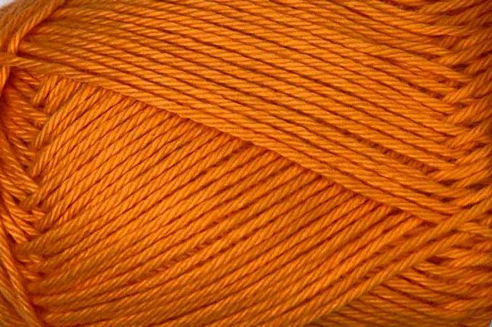 Heirloom Cotton 4 ply Soft Orange