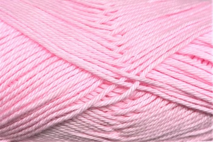 Heirloom Cotton 8 ply Pink Rose