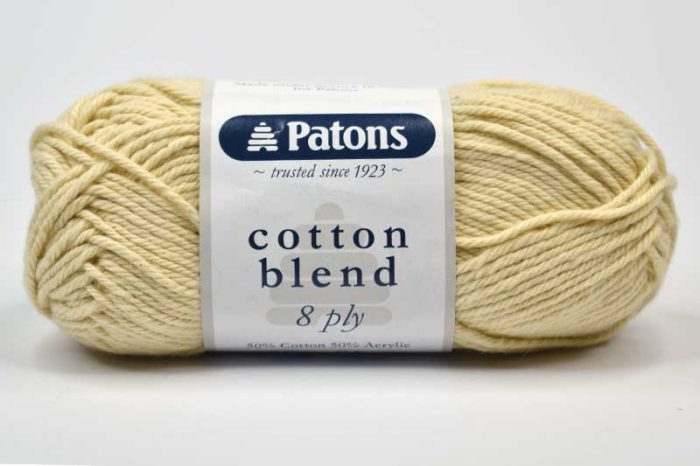 Patons Cotton Blend 8ply