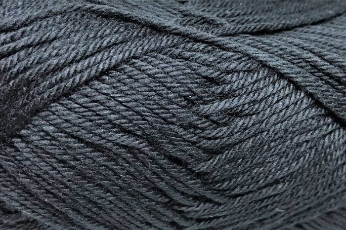 Patons Cotton Blend 8ply Black