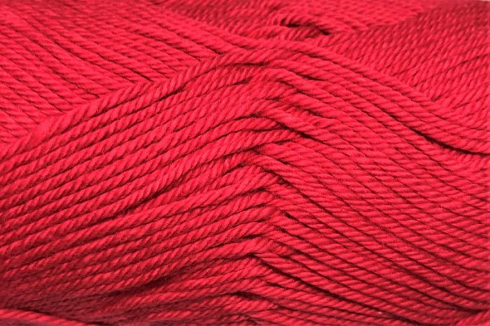 Patons Cotton Blend 8ply Bright Red