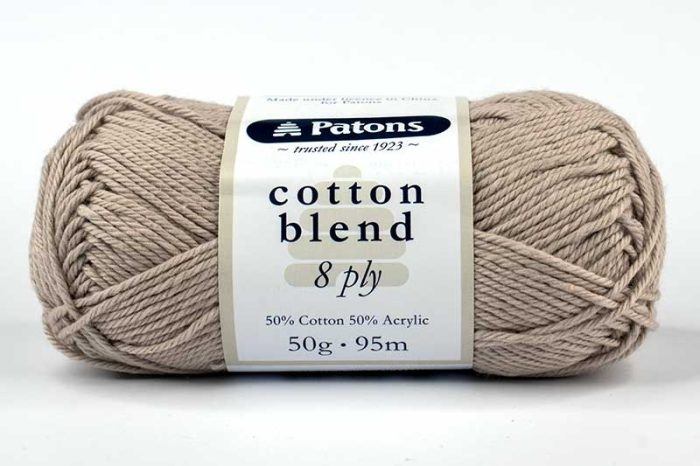 Patons Cotton Blend 8ply Dune
