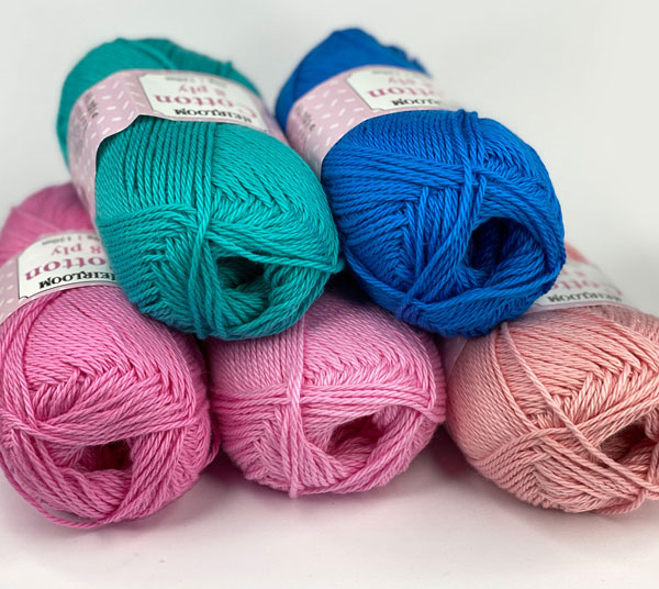 New Heirloom Cotton Colours