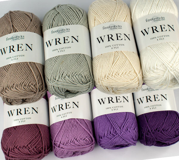 New Cotton 8 ply range of colours