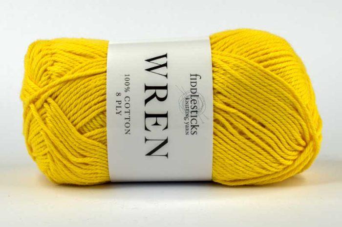 Fiddlesticks Wren Cotton 8 ply Duck