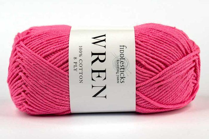 Fiddlesticks Wren Cotton 8 ply Lipstick