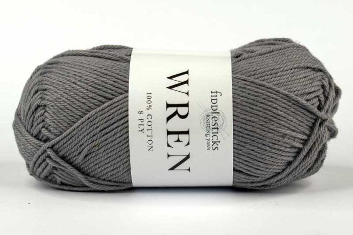 Fiddlesticks Wren Cotton 8 ply Tin