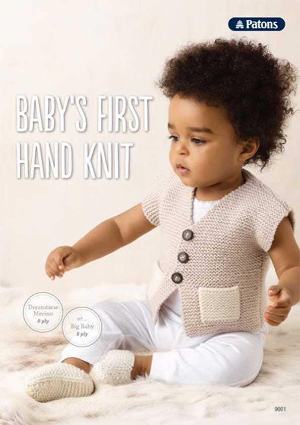 Patons Baby's First Hand Knit Leaflet