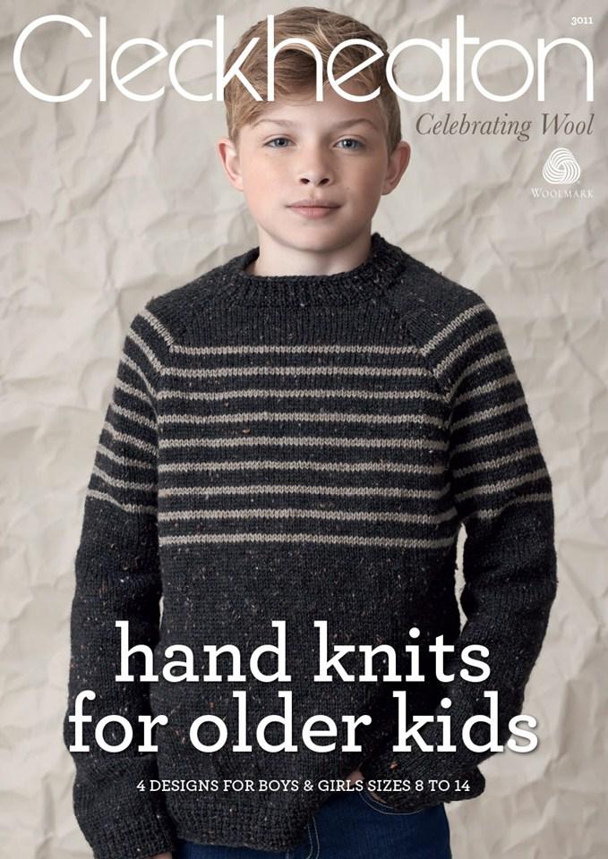 Cleckheaton Knits for older kids - Crossways Wool & Fabrics