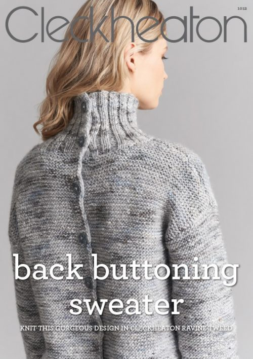 Cleckheaton Back Buttoning Sweater