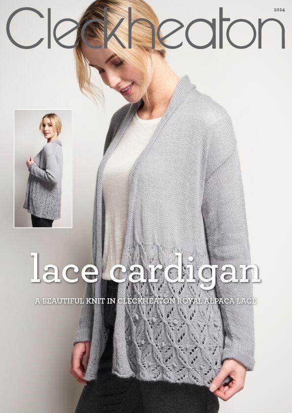 Cleckheaton Lace Cardigan