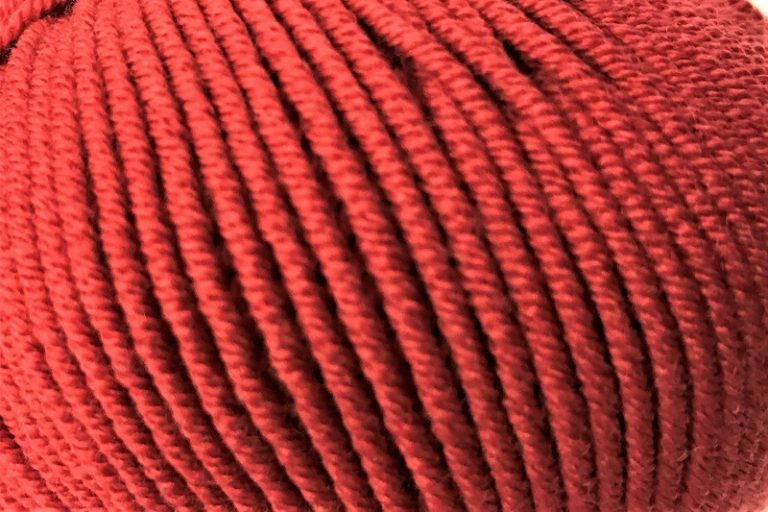 Cleckheaton Superfine 8 ply Burnt Red