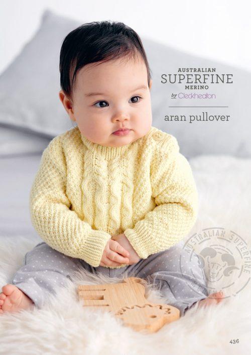 Cleckheaton Superfine Aran pullover