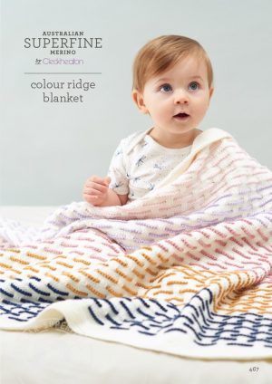 Cleckheaton Superfine Colour Ridge Blanket