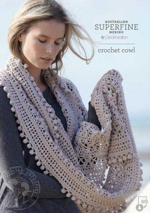 Cleckheaton Superfine Crochet Cowl