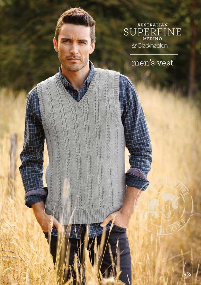 Cleckheaton Superfine Men's Vest