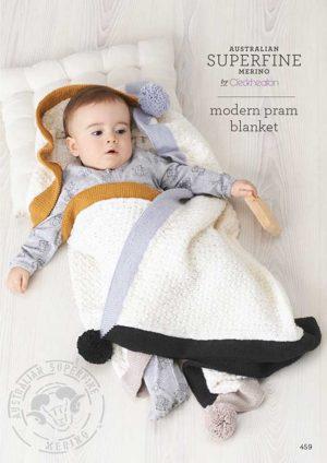 Cleckheaton Superfine Modern Baby Blanket
