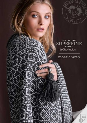 Cleckheaton Superfine Mosaic wrap