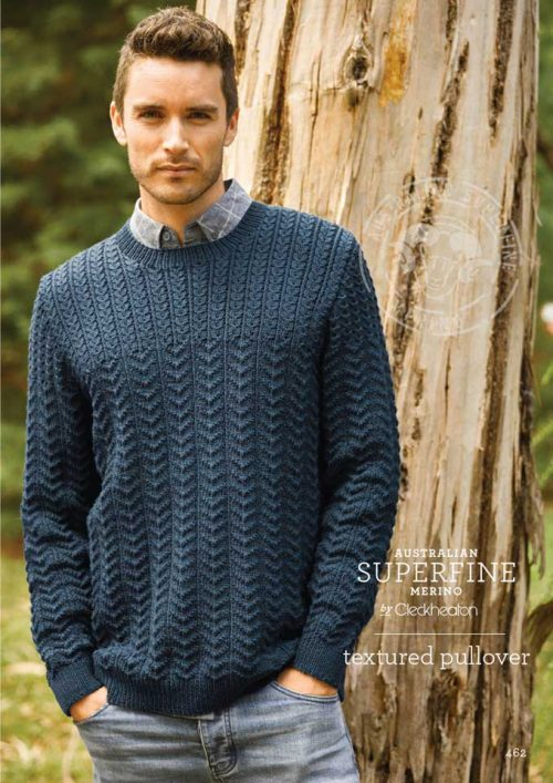 Cleckheaton Superfine Textured Jumper
