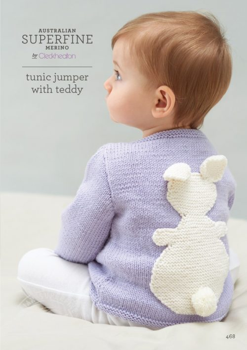 Cleckheaton Superfine Tunic Jumper with rabbit