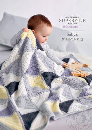 Cleckheaton Superfine Baby's Triangle Rug