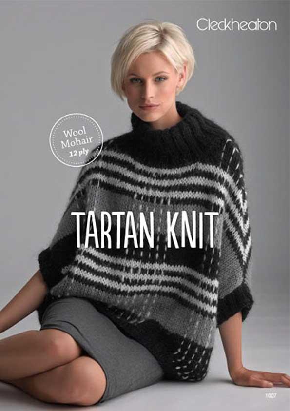 Cleckheaton Tartan Knit Leaflet