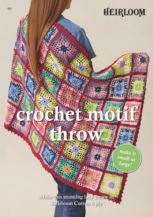 Heirloom Crochet Motif Throw