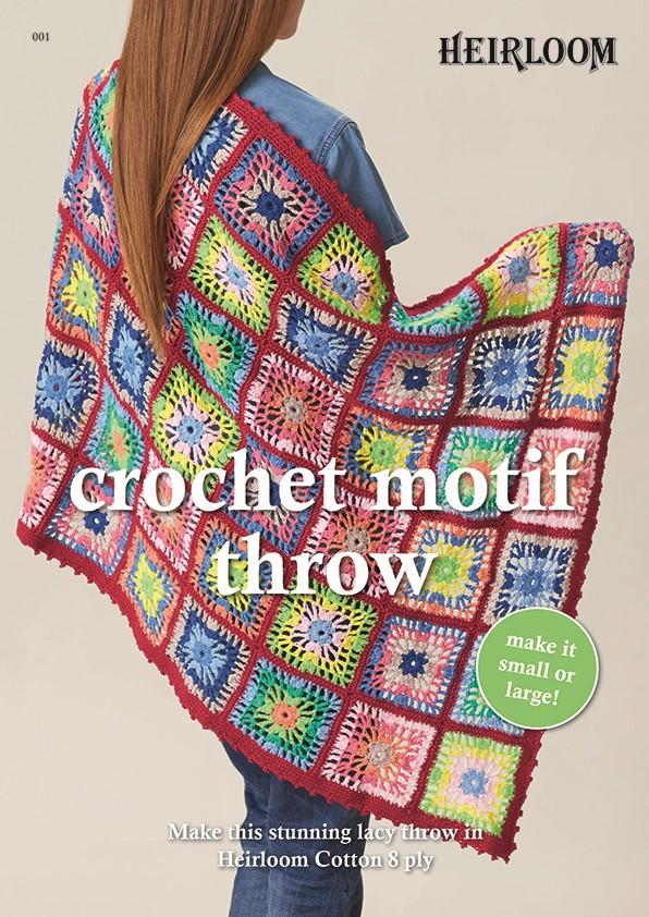Heirloom Crochet Motif Throw