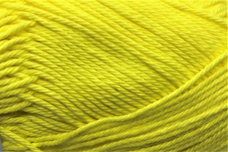 Heirloom Cotton 4 ply Canary