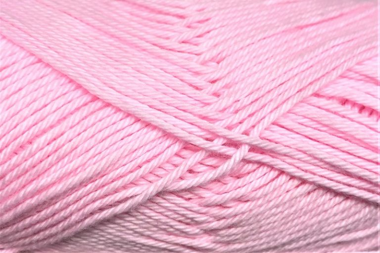 Heirloom Cotton 4 ply Pink Rose