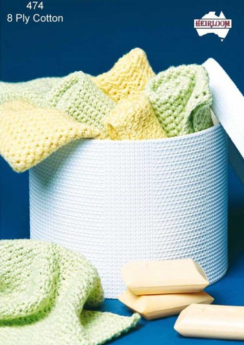 Heirloom Crochet Wash Cloths