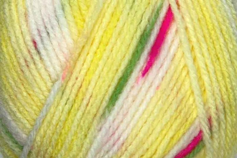 Heirloom Dazzle Star 8 ply Yellow
