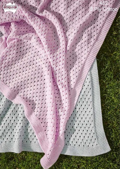 Heirloom Eyelet Blanket