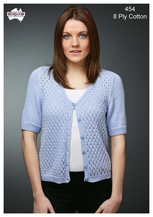 Heirloom Ladies Eyelet Cardi