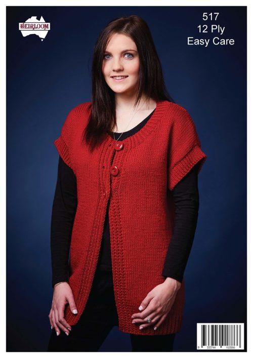 Heirloom Ladies Longline Vest