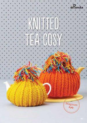 Panda Knitted Tea Cosy Leaflet