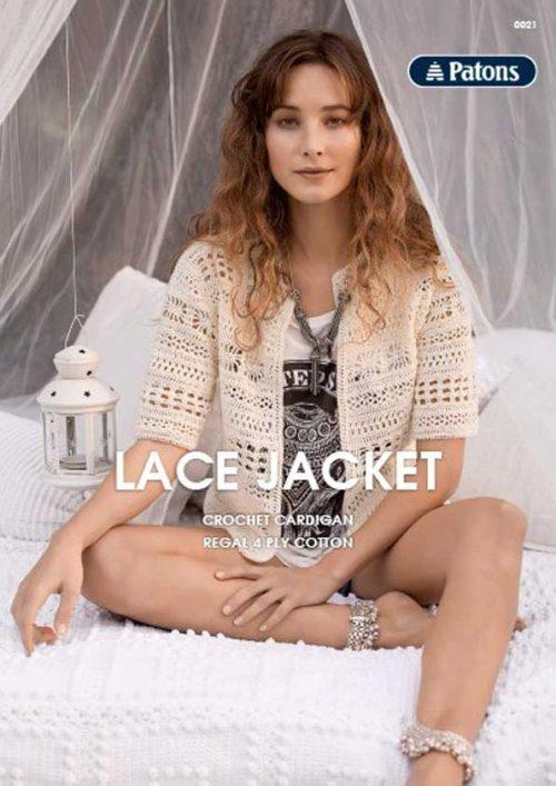 Patons Lace Jacket Leaflet