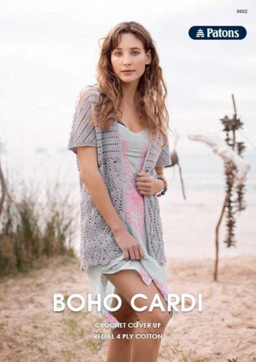 Patons Boho Cardi Leaflet