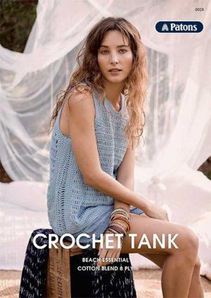Patons Crochet Tank Leaflet