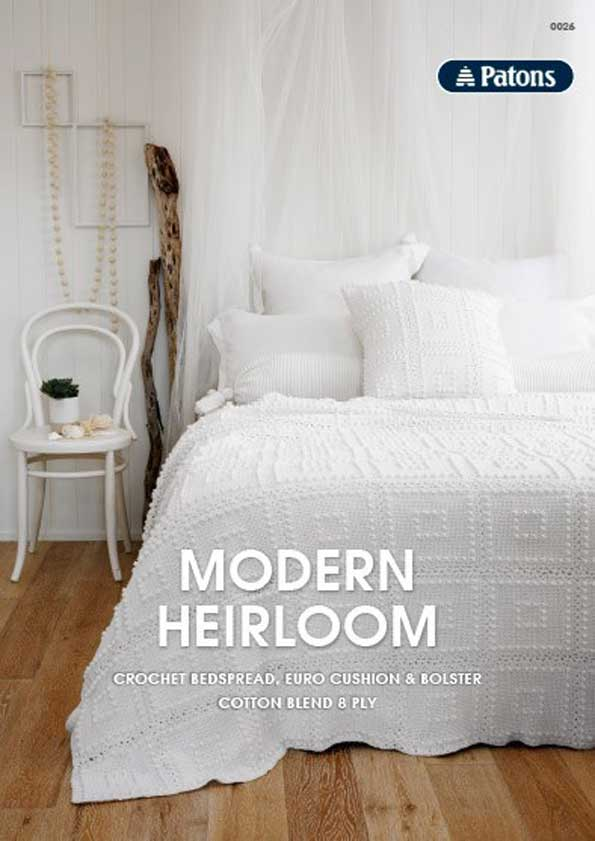 Patons Modern Heirloom Leaflet
