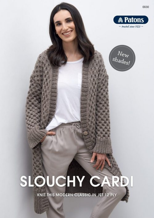 Patons Slouchy Cardigan