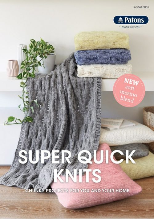 Patons Super Quick Knits