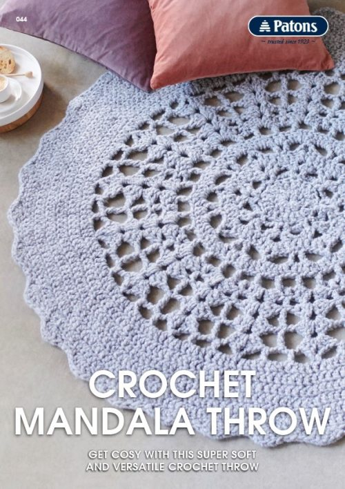 Patons Crochet Mandala