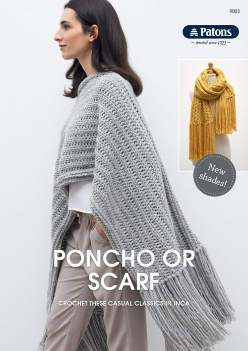 Patons Poncho or Scarf