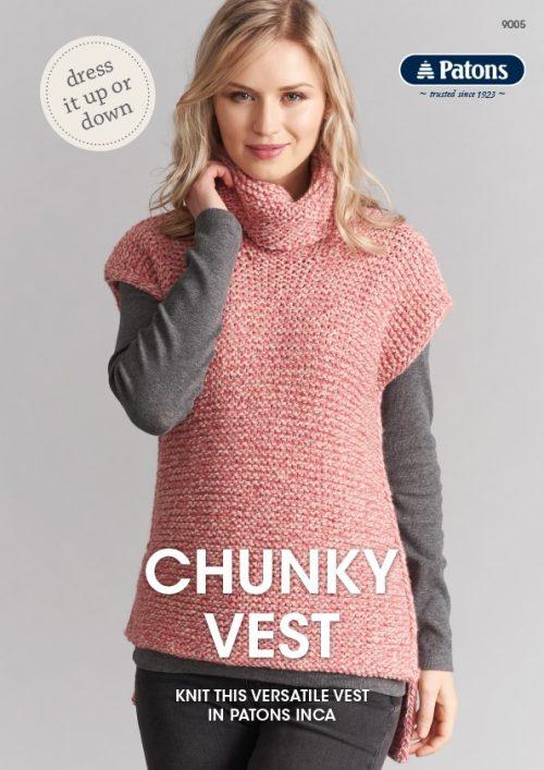 Patons Chunky Vest