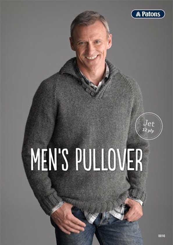 Patons Men's Pullover Leaflet