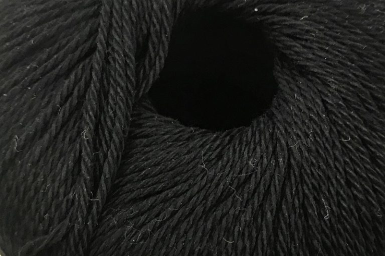 Patons Regal 4 ply cotton Black