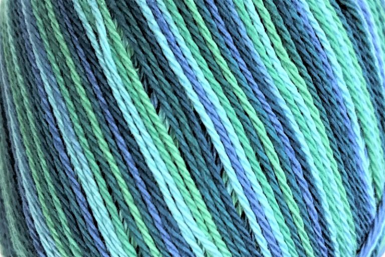Patons Regal 4 ply cotton Marine Print