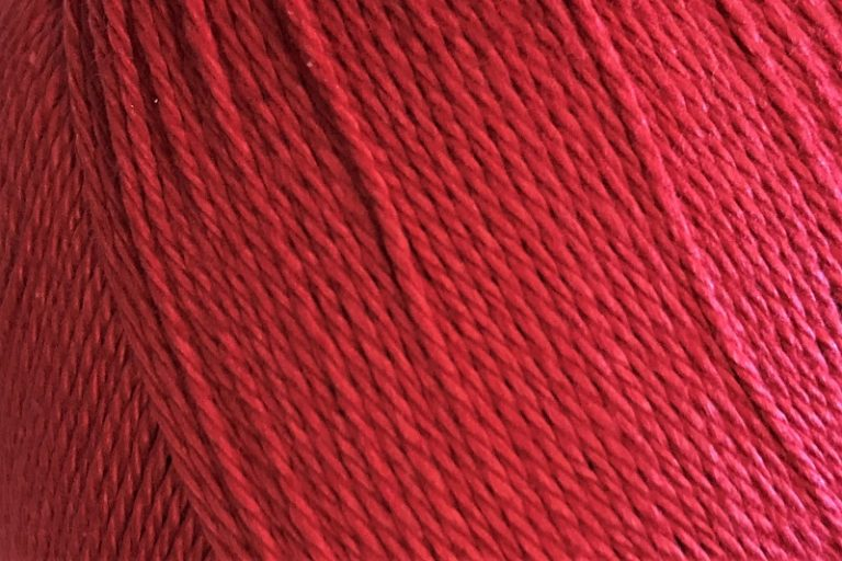 Patons Regal 4 ply cotton Scarlet