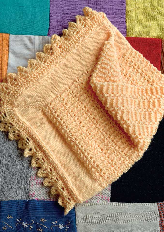 Patons Big Baby 8 ply Baby Blanket